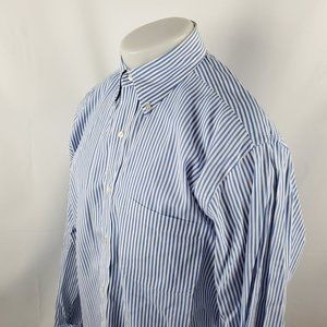 Brooks Brothers Mens Button Front Dress Shirt 15.5